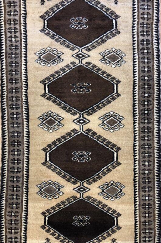 Gorgeous Gabbeh - 1930s Vintage Tribal Rug - Nomadic Persian Runner - 3.4 X 6.7