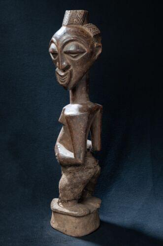 Songye Kalebwe Fetish Figure, D.R. Congo, Central African Tribal Art.