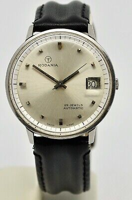Vintage Rodania automatic gents stainless steel watch