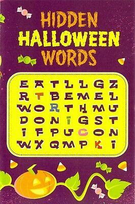 Hidden Halloween Words. Christian tract. Set of 10!