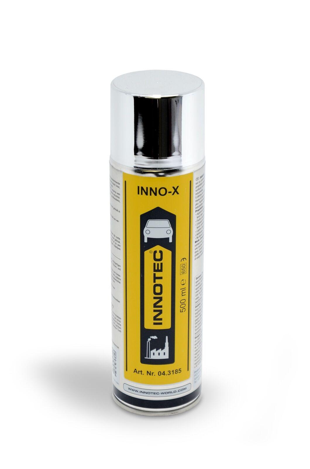 Innotec INNO-X, Reinigungs- und Glanzmittel für Edelstahl, Chrom, Alu, 500 ml Sp