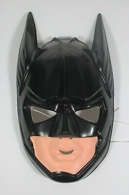 Batman Forever Mask 1995 Vintage DC Plastic Halloween Costume