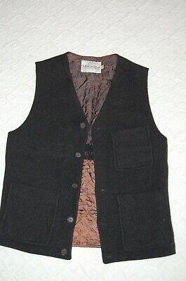 Matiniquei Mens Black Schaefer Wool Vest