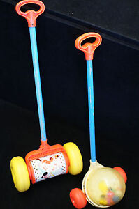 Vintage Fisher Price Corn Popper Ebay