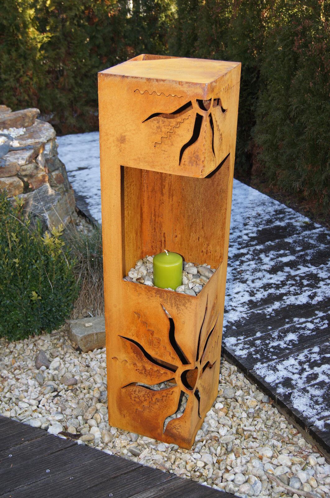 Feuers ule sonne edelrost rosts ule rost jh metalldesign for Edelrost skulpturen