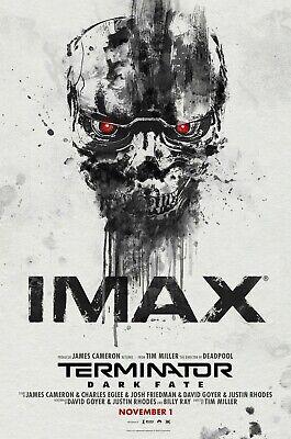 Terminator: Dark Fate Movie Poster (24x36) - Mackenzie Davis, Linda Hamilton v2