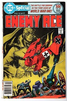 DC Special #26 Featuring Enemy Ace, Fine - Very Fine Condition'