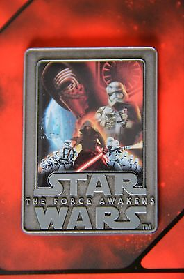 NEW! Disney Store Star Wars The Force Awakens Limited Edition Force Friday Pin