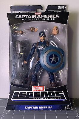 Marvel Legends Captain America Infinite Series   Build A Figure   New in box