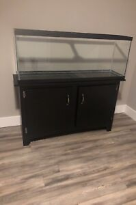 45 gallon fish tank and stand.