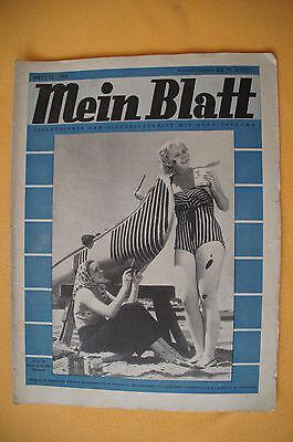 Zeitschrift Mein Blatt, Heft 12 / 1939, Illustrierte, Vobachs Schnittbogen 10