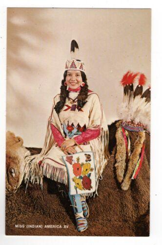 PC, Miss (Indian) America XV, Miss Thomasine Ruth Hill, Sheridan, WY, 1969