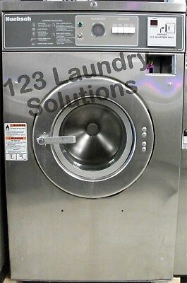Huebsch 27 Lbs Front Load Washer 208-240v Stainless Steel Hc27md2ou40001