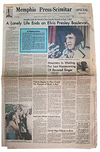 Elvis-Presley-Death-Newspaper-Memphis-Graceland-1977
