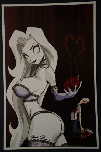 Lady Death Print signed by Brian Pulido