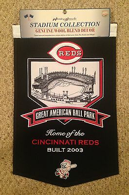 CINCINNATI REDS GREAT AMERICAN BALL PARK -  STADIUM BANNER