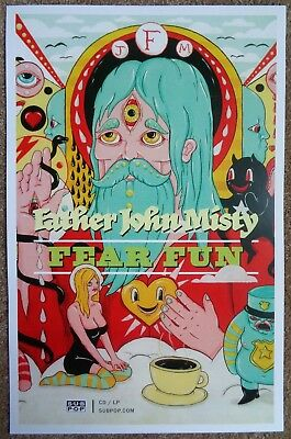 FATHER JOHN MISTY Fear Fun POSTER 2-Sided