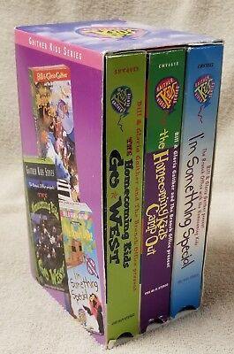 Used, GAITHER KIDS SERIES 3 Vhs Video Box Set Bill & Gloria Branch Office Homecoming for sale  Moorhead