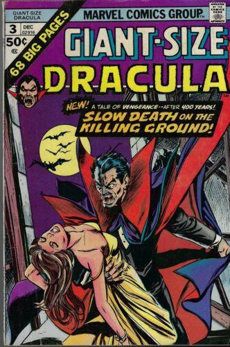GIANT-SIZE DRACULA # 3  DON HECK ART 1974 MARVEL COMICS