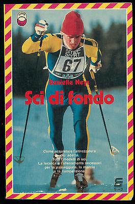 NEYS DANIELLE SCI DI FONDO SIAD 1983 ALPINISMO MONTAGNA