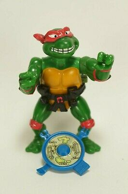 1990 TMNT Teenage Mutant Ninja Turtles Break Fighting Raphael Action Figure