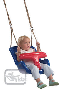 Blue Baby Toddler Deluxe Swing Seat -NEW- Ready assembled TOP QUALITY Children