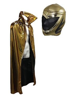 Gold Cape (Lucha Libre Adult Halloween 54