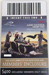 2 x Victoria Derby Members Tickets Richmond Yarra Area Preview