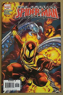 Amazing Spider Man  529   Civil War  3Rd P Variant  1St Appearance Iron Spider
