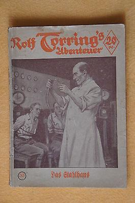 VK Romanheft Rolf Torring's Abenteuer 243, Das Stahlhaus