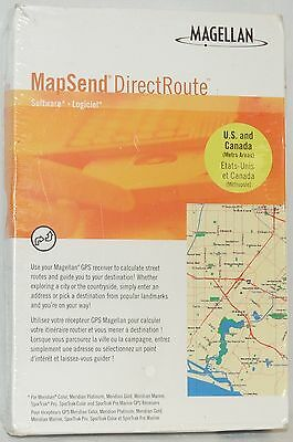 NEW Magellan MapSend DirectRoute GPS USA/CA Maps CD Meridian Marine SporTrak Pro ()