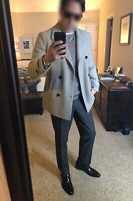 ELEVENTY Luxury Italian Textured Linen Blend Sweater, Fits 40 US, Great Details