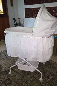 Lullabye White Bassinet with instructions and liners Baulkham Hills The Hills District Preview