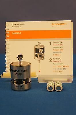 Renishaw Haas Fanuc Omp40-2 Machine Tool Probe Fully Tested 90 Day Warranty