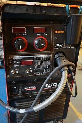 Lincoln Power Mig 350mp Welder Push Model K2403-1