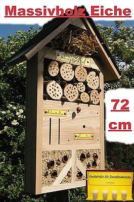 Insektenhotel/Schmetterling/XXXL/Hummelhotel/für viele Insektenarten/Lockstoffe!