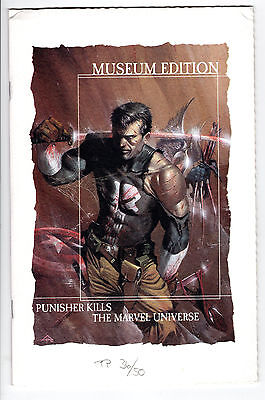 PUNISHER KILLS THE MARVEL UNIVERSE GERMAN DELL'OTTO LTD 50 PP MUSEUM EDITION FN-