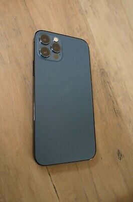 Excellent Apple iPhone 12 Pro 128GB Blue (T-Mobile/MetroPCs) Clean IMEI