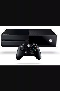 Xbox one (1tb) and free game
