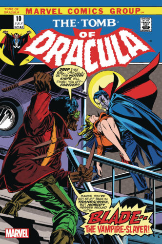 TOMB OF DRACULA #10 FACSIMILE EDITION - GENE COLAN ART & COVER - MARVEL/2019