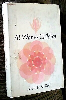 """1964 SIGNED Kit Reed (1932-2017) """"At War as Children"""""""
