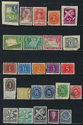 25 Curacao Stamps Used