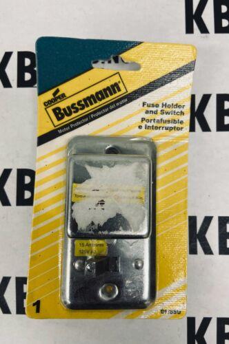 COPPER BUSSMANN® 15-Amp Fuse Holder & Switch   BP/SSU
