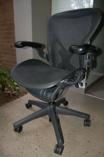 Herman Miller Aeron Office Chair - Size B / Fully Optioned