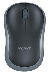 Logitech Wireless Mouse M185 - Swift Gray  910-002225