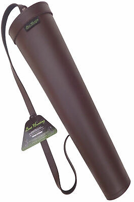 SYNTHETIC LEATHER BACK SIDE ARROW QUIVER ARCHERY PRODUCTS BFSAQ-8316 BROWN