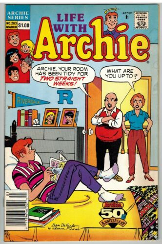 LIFE WITH ARCHIE #283 1991 COPPER AGE NICE!