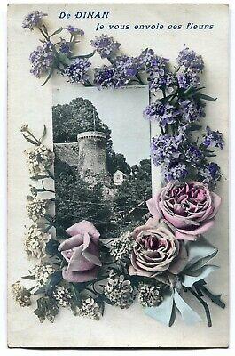 CPA - Carte Postale - France - De Dinan je vous envoie ces Fleurs - 1906 (I9815)