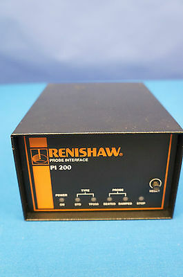 Renishaw Pi200 Cmm-video Measuring Mach Probe Interface Tested W 90 Day Warranty