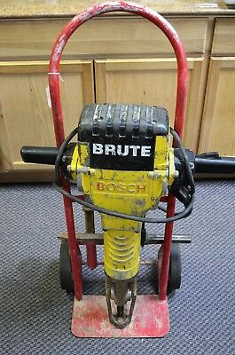 *Bosch 11304 Brute Breaker Jack Hammer w/ 4 Bits & Stand/cart NJ Pick Up Only